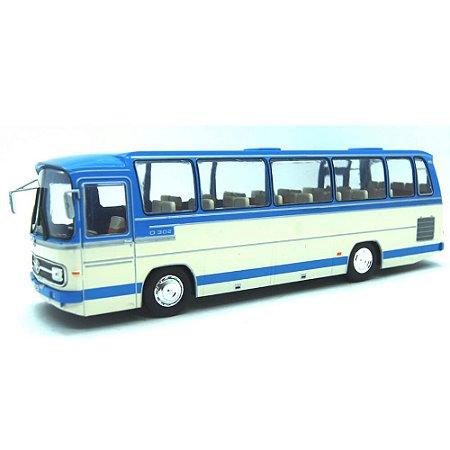 Ônibus Mercedes Benz O302 10R AutoBus 1965 1/43 Ixo