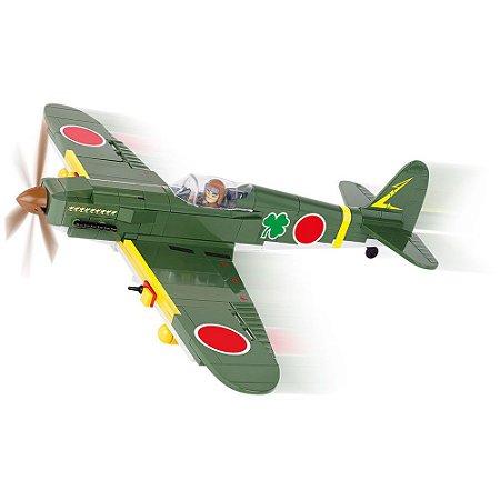 Avião Kawasaki KI-61-II Blocos de Montar 260 Peças Cobi
