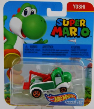 Hot Wheels 2017 Super Mario Yoshi Flj18