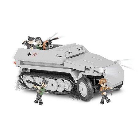 Tanque de Guerra sd.Kfz. 251 Hanomag Blocos de Montar 400 Peças Cobi
