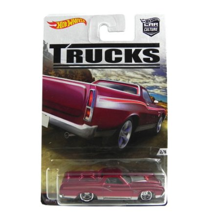 Ford Ranchero 1972 1/64 Hot Wheels Truck