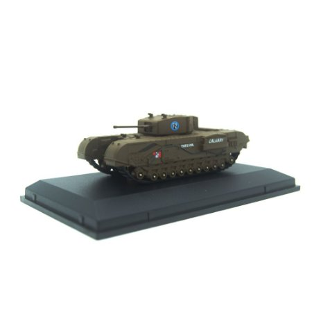 Churchill Tank MkIII 1ST Canadian Army Bgd, Dieppe 1942 1/76 Oxford