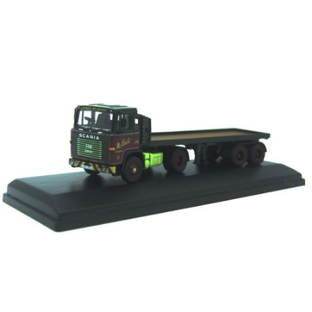 Scania 110 Flatbed Trailler James McBride 1/76 Oxford