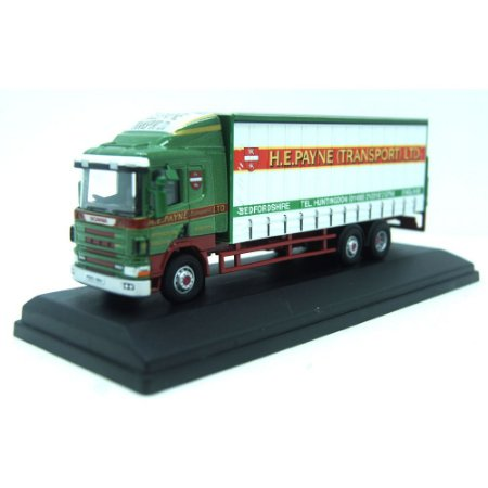Scania 94d Curtainside H E Payne 1/76 Oxford