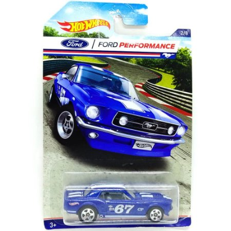 Ford Mustang Coupe 1967 1/64 Hot Wheels