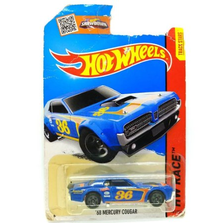 Mercury Cougar 1968 1/64 Hot Wheels