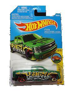Chevy Silverado 1/64 Hot Wheels