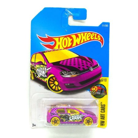 Volkswagen Golf MK7 1/64 Hot Wheels