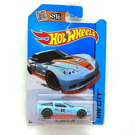 Corvette ZR1 2009 1/64 Hot Wheels