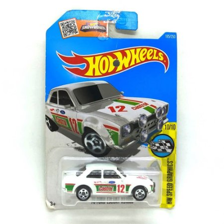 Ford Escort RS1600 1970 1/64 Hot Weels