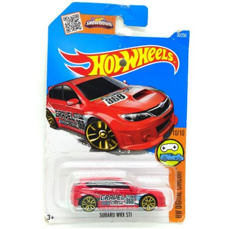 Subaru WRX STI 1/64 Hot Wheels