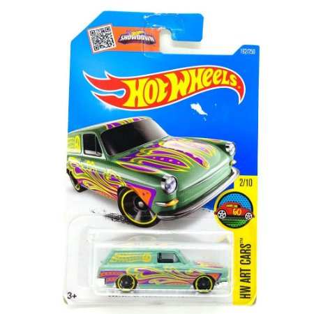Custom Volkswagen Squareback 1/64 Hot Wheels