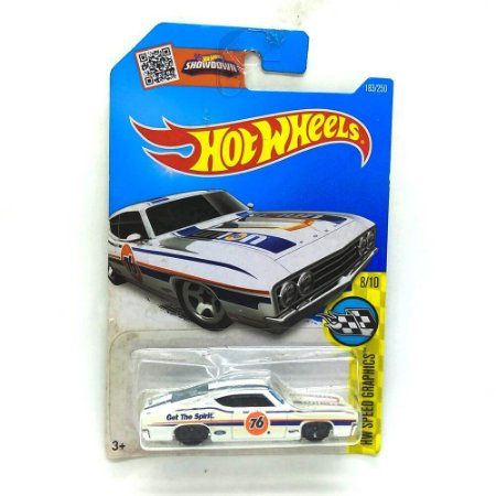 Ford Torino Talladega 1969 1/64 Hot Wheels