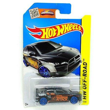 Lancer Evolution 2008 1/64 Hot Wheels