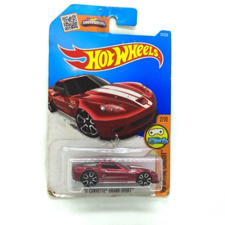 Corvette Grand Sport 2011 1/64 Hot Wheels
