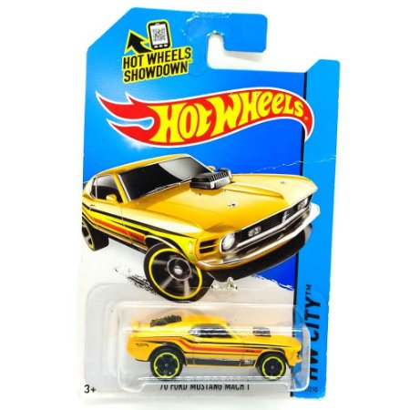 FORD Mustang Mach 1 1970 1/64 Hot Wheels