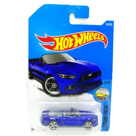 Ford Mustang GT Convertible 2015 1/64 Hot Wheels