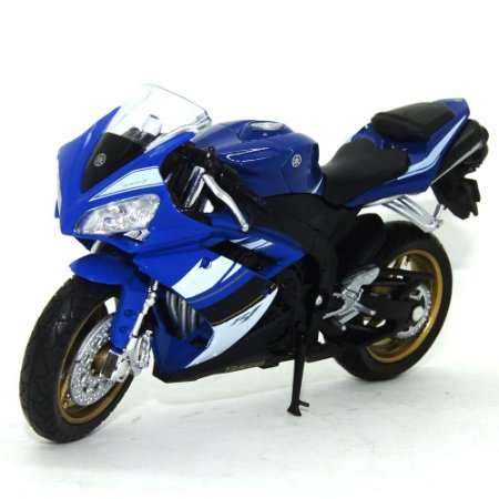 Moto Yamaha YZF-R1 1/18 Welly California Cycle