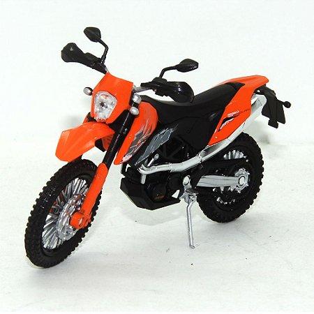 Moto KTM 690 Enduro 1/18 Welly California Cycle