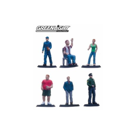 Muscle People Pack Série 1 1/64 Greenlight