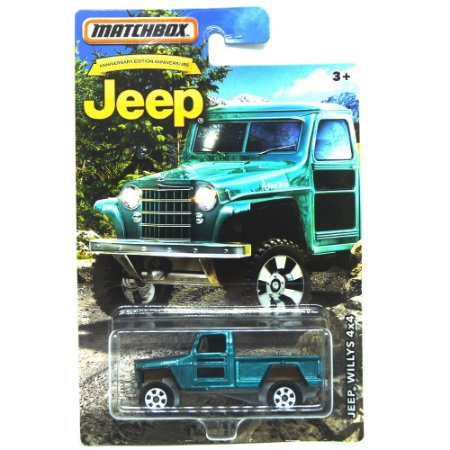 Jeep Willys 4X4 Rural 1/64 Matchbox