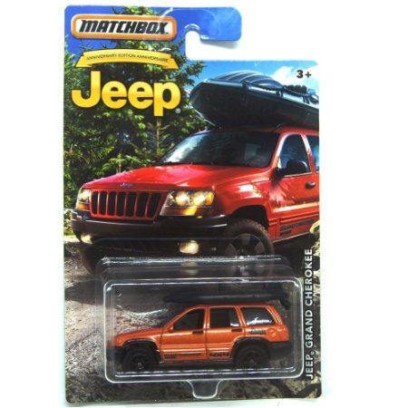 Jeep Grand Cherokee 1/58 Matchbox