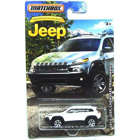 Jeep Cherokee Trailhawk 1/64 Matchbox