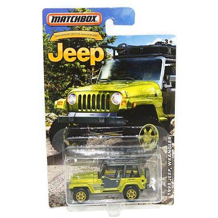 Jeep Wrangler 1998 1/64 Matchbox