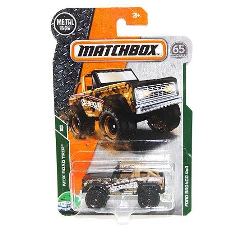 Ford Bronco 4x4 1/64 Matchbox