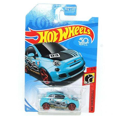 Fiat 500 1/64 Hot Wheels