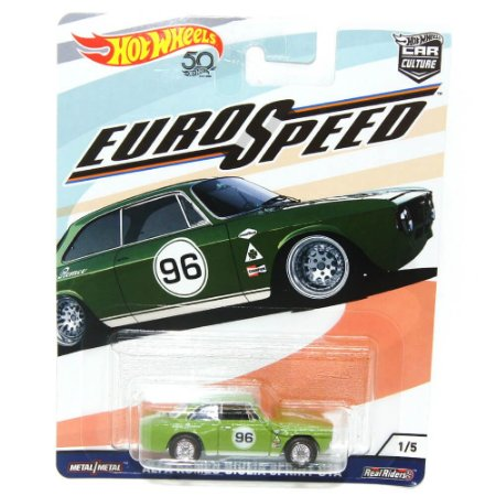 Alfa Romeo Giulia Sprint GTA Euro Speed 1/64 Hot Wheels