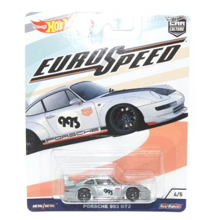 Porshe 993 GT2 1/64 Hot Wheels