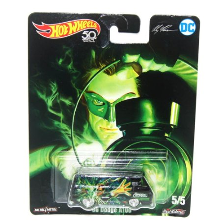 Dodge A100 1966 Lanterna Verde 1/64 Hot Wheels