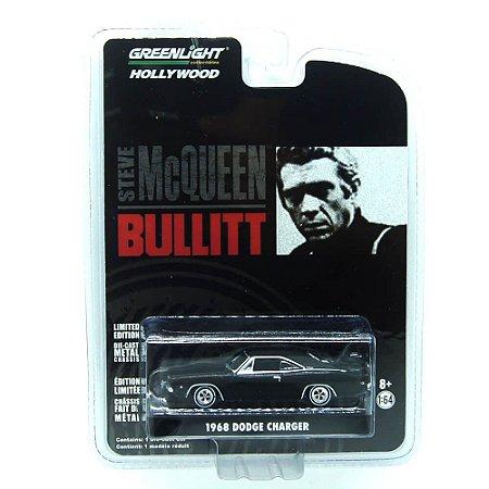 Dodge Charger 1968 Bullitt 1/64 Greenlight