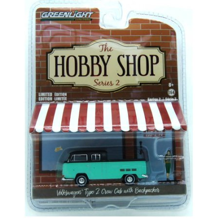 Volkswagen Type 2 The Hobby Shop Series 2 1/64 Greenlight