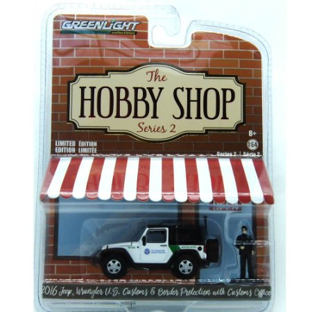 Jeep Wrangler 2016 The Hobby Shop Series 2 1/64 Greenlight