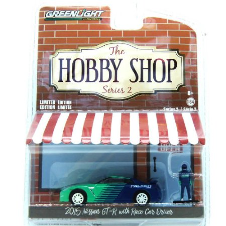 Nissan GT-R 20115 The Hobby Shop Series 2 1/64 Greenlight