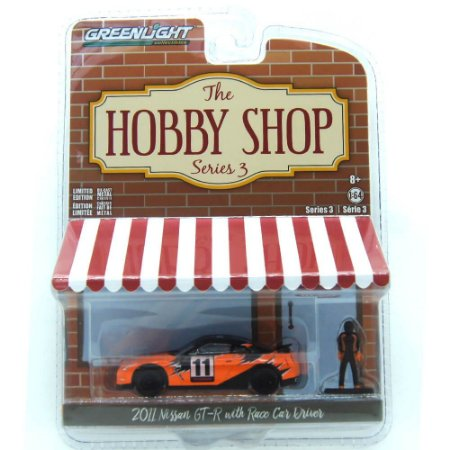 Nissan GT-R 2011 The Hobby Shop Series 3 1/64 Greenlight