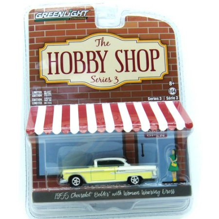 Chevrolet BelAir 1955 The Hobby Shop Series 3 1/64 Greenlight
