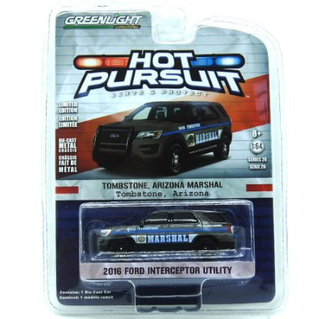 Ford Interceptor Utility 2016 Hot Pursuit 1/64 Greenlight