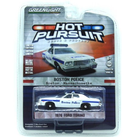 Ford Torino 1976 Hot Pursuit 1/64 Greenlight