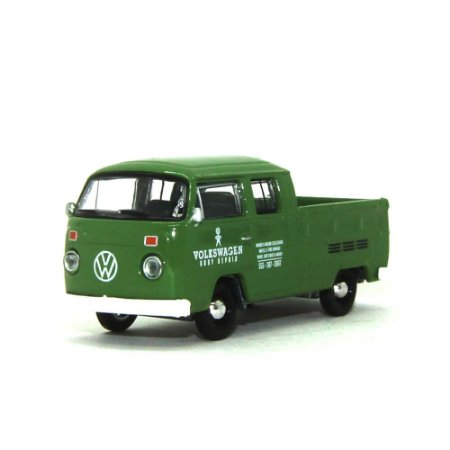 Volkswagen Kombi Type 2 Cabine Dupla Pick Up 1975 1/64 Greenlight Califórnia Collectibles 64
