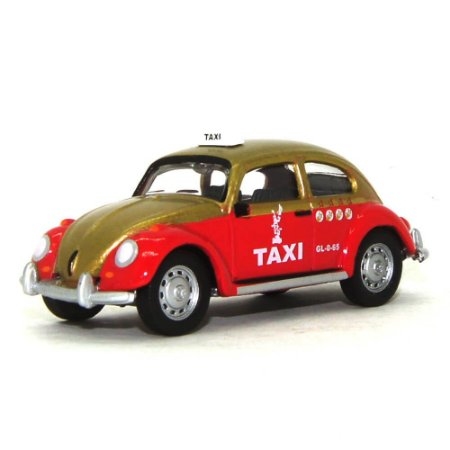 Volkswagen Fusca Táxi 1/64 Greenlight Califórnia Collectibles 64