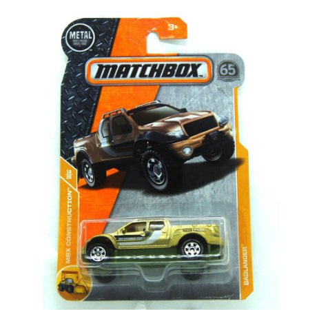 Badlander Pick Up MBX Construction 1/64 Matchbox