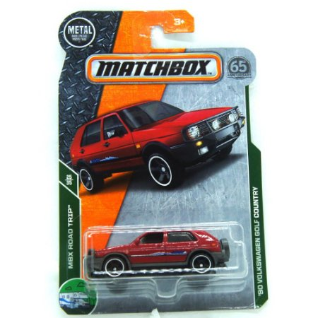 Volkswagen Golf Country 1990 MBX Road Trip 1/64 Matchbox