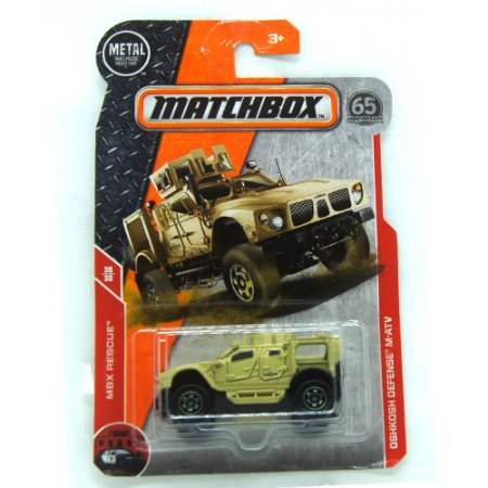 Oshkosh Defense M-ATV MBX Rescue 1/64 Matchbox