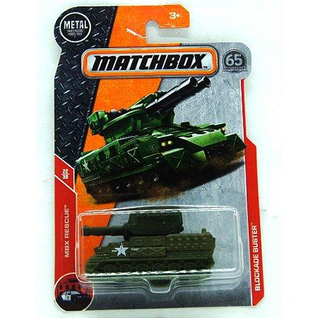 Tanque de Guerra Blockade Buster MBX Rescue 1/64 Matchbox