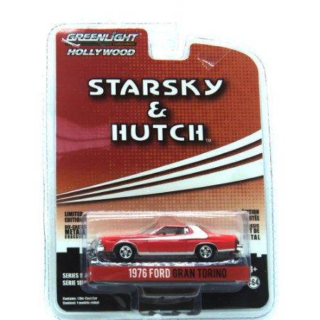 Ford Gran Torino 1976 Starsky & Hutch 1/64 Greenlight