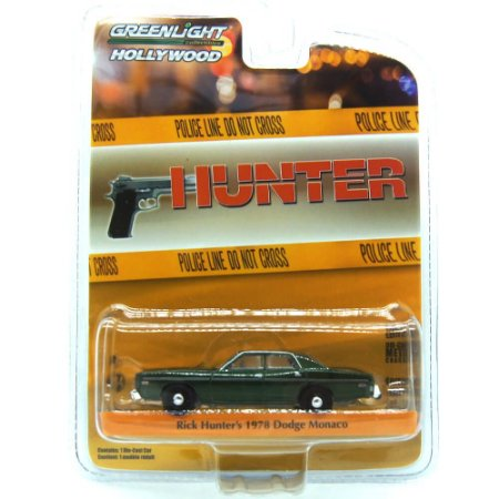 Dodge Monaco 1978 Rick Hunter´s Hunter 1/64 Greenlight