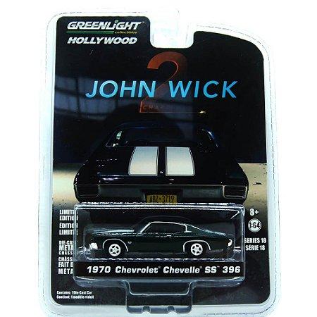 Chevrolet Chevelle SS 396 1970 John Wick 2 1/64 Greenlight